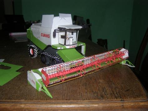Claas Lexion 580 + Terra trac
