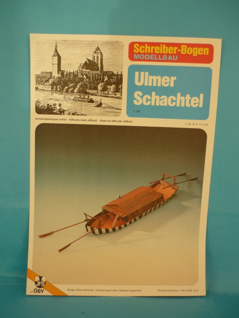 člun Ulmer Schachtel