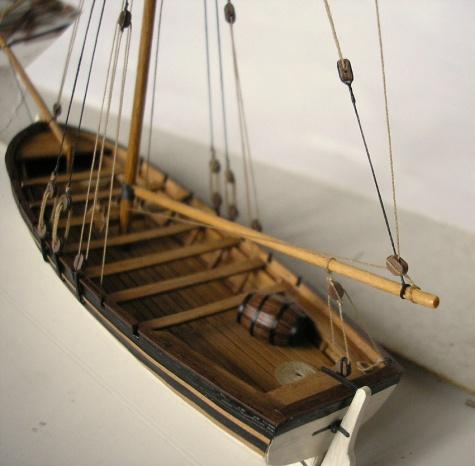 Čluny a doplňky k plachetnicím