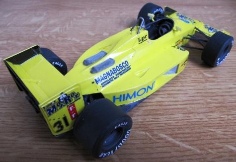 Coloni FC188. Gabriele Targuini, Monaco GP 1988