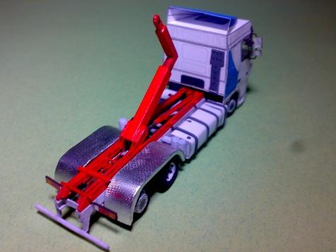 Daf XF 95 hákový nosič kontejnerů