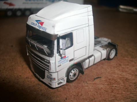 DAF 105 XF czech logistic