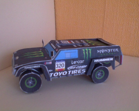 Dakar trucks and cars
