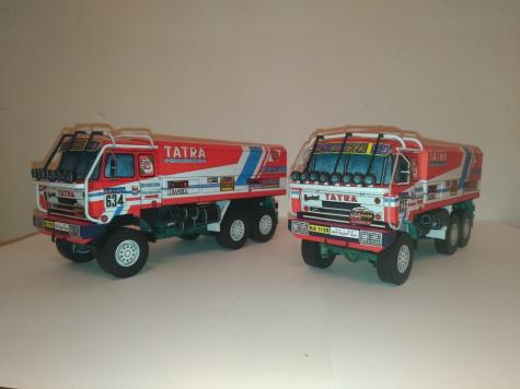 Dakar 1985 - 1988