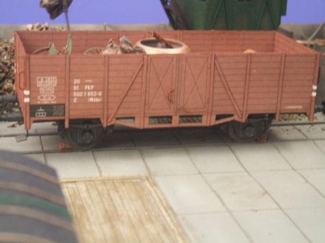 Lok. spal.SM25, wagony 1W a 17W