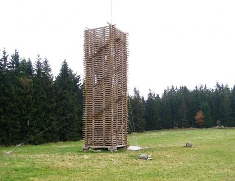 rozhledna Deponie dřeva - Schlozberg