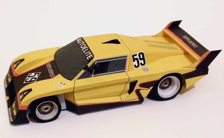 DeTomaso Pantera - Group C 1983