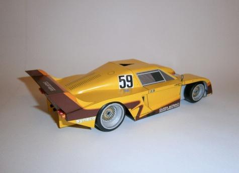 De Tomaso Pantera C Ford - 1000 Km Mugello 1983