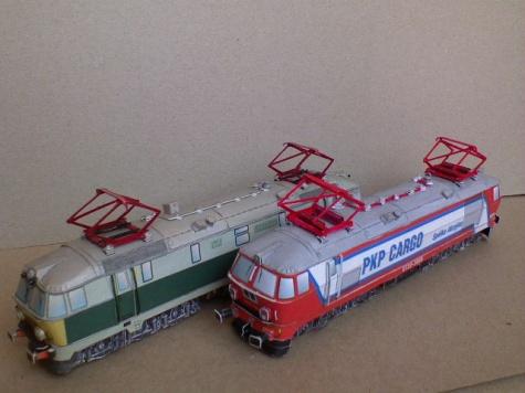 Diesel loco, Electric loco & cars