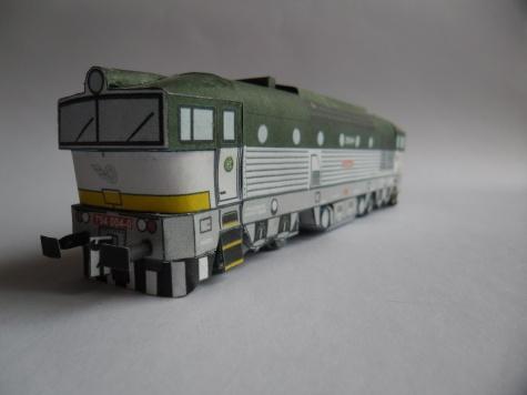 Dieselová lokomotiva řady 754