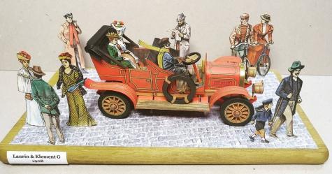 Diorama - obrázky v krabičce