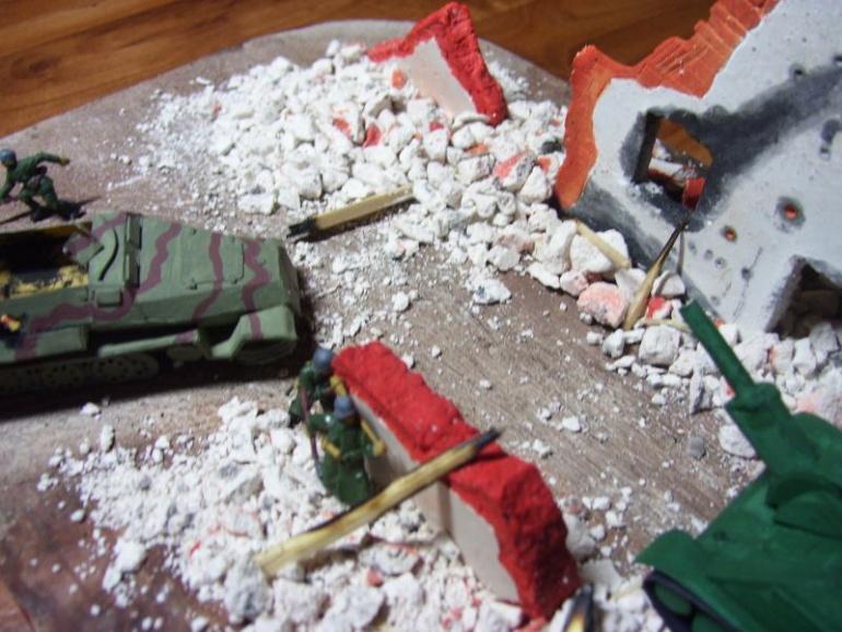 Diorama:Bitva o Hostinec