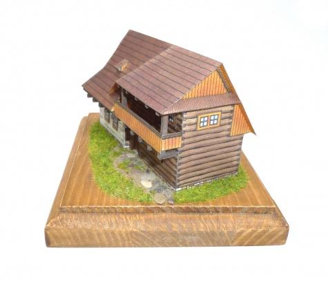 Dolnooravský srubový dům