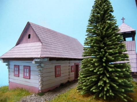 źudové stavby z Vlkolínca