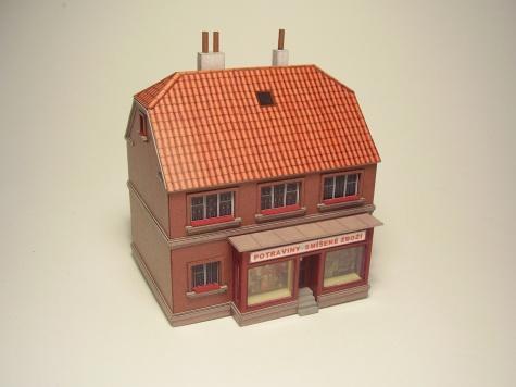 Domky do kolejiště