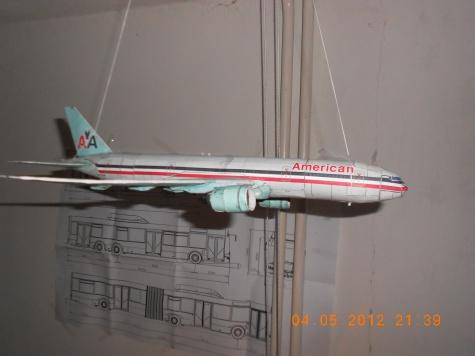 Dopravní letoun BOEING 777-200
