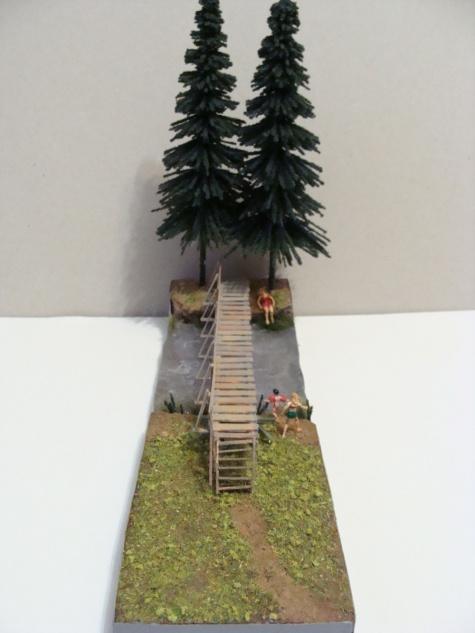 dřevěná lávka Švařec