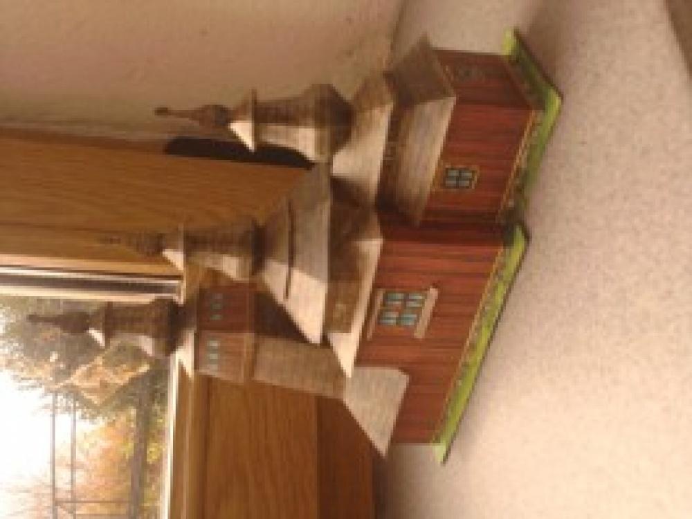 Dřevenný kostelík