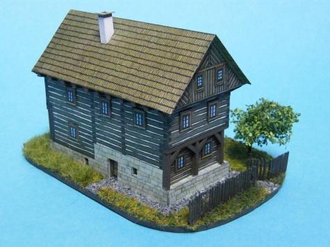 Drevený dom z Kokořínska