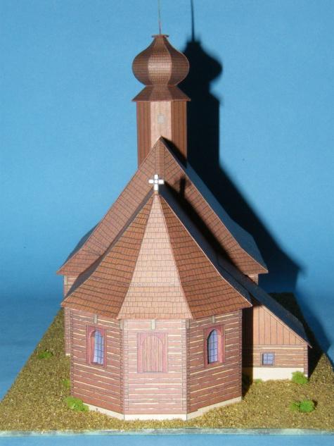 Dřevěný kostel z Maršíkova