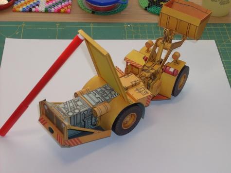 Důlní přepravníkový nakladač PNH - 5