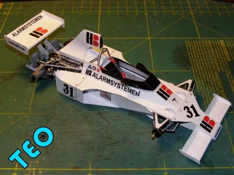 Ensign Ford N175, 1975, G. Van Lennep