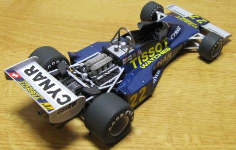 Ensign Ford N177, Clay Regazzoni ,1977