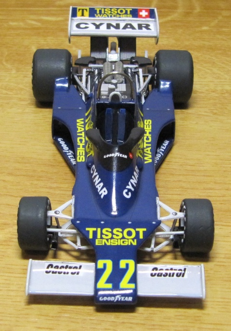 Ensign Ford N177, Clay Regazzoni ,1977