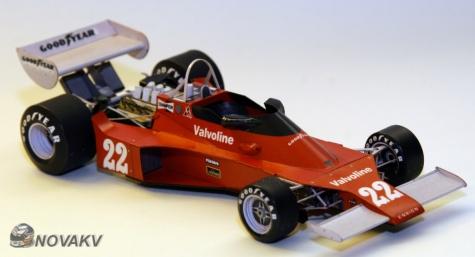 Ensign N176, Jacky Ickx, GP Belgie 1976