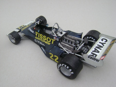Ensign N177, 1977, C. Regazzoni
