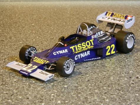 ENSIGN N177 Ford  C.Regazzoni 1977