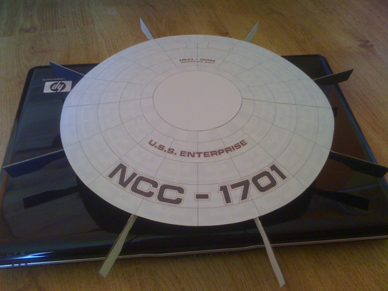 ENTERPRISE NCC 1701-A REFIT (RAWEN MODEL)