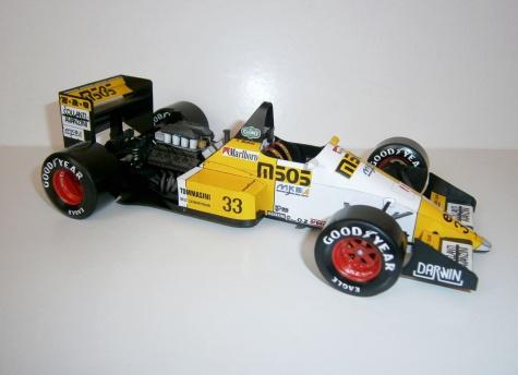 EuroBrun ER 188 - S.Modena, GP Australian 1988