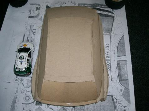 Škoda Fabia WRC 1:5