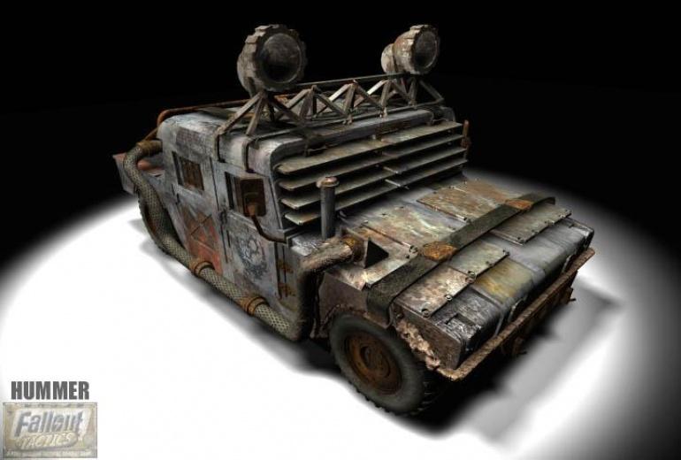 Fallout Tactics Hummer