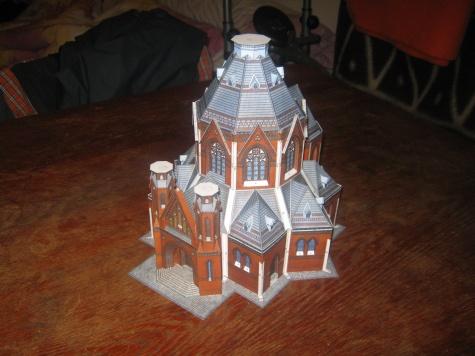 Farní kostel v Poštorné