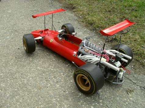 Ferrari 312 tipo 609 Dupplano - Modena 1969