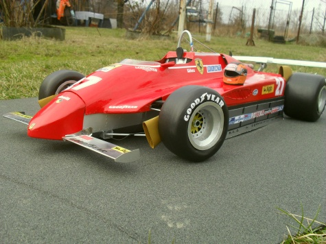 FERRARI  126 C2 vers.B turbo   USA 1982