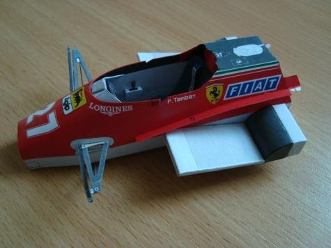 Ferrari 126 C2 Turbo - 1982 - Patrick Tambay