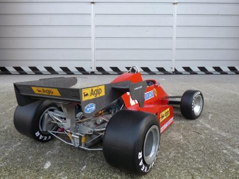 Ferrari 126 C3 turbo San Marino 1983