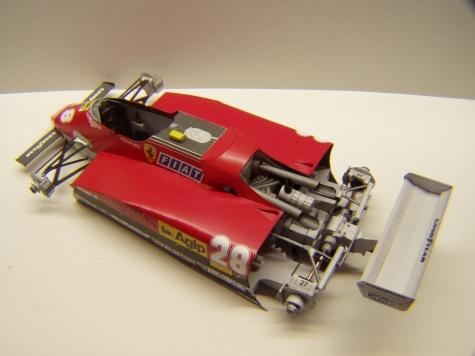 Ferrari 126C2, 1982, M. Andretti, GP Itálie