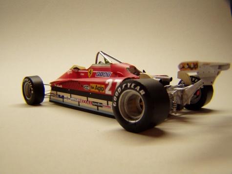 Ferrari 126C2, 1982, GP USA, Gilles Villeneuve