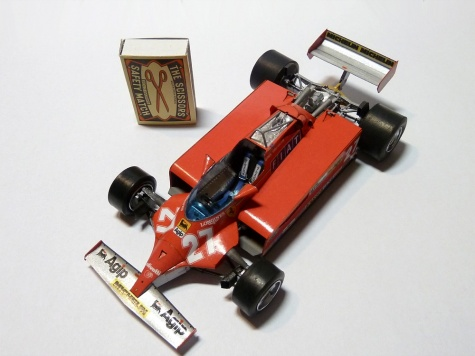Ferrari 126CK GP Monaco ´81