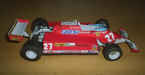 Ferrari 126CK turbo