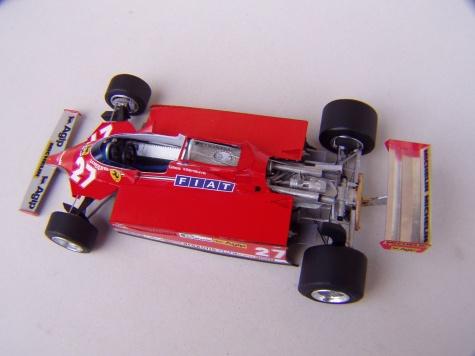 Ferrari 126CK, 1981, G. Villeneuve