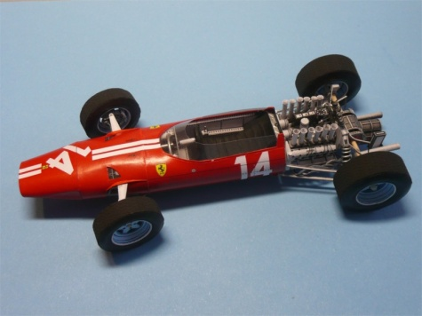 Ferrari 1512 GP Mexico ´65