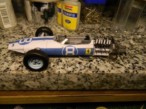 Ferrari 1512 Lorenza Baldiniho GP Mexiko 1964
