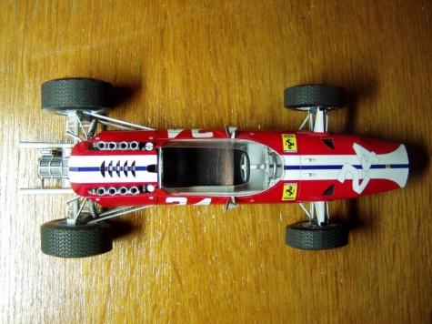 Ferrari 158 - Bob Bondurant, USA GP 1965