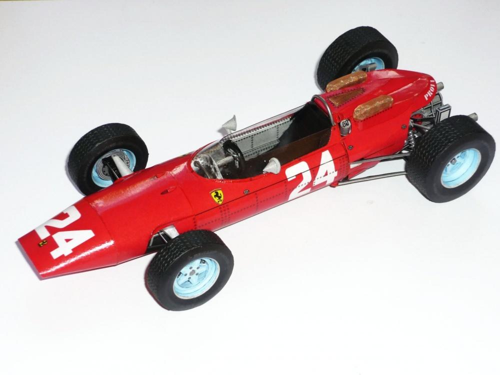 Ferrari 158 - John Surtees - GP Francie 1964
