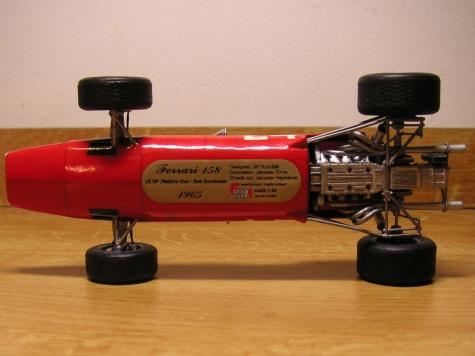 Ferrari 158, US GP 1965, Bob Bondurant